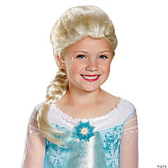 Girl's Disney's Frozen Elsa Wig