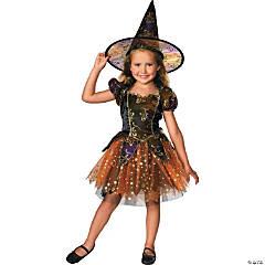 Girl's Elegant Witch Costume - Medium