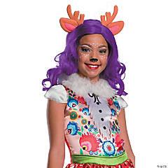 Girl's Enchantimals™ Danessa Deer Wig with Ears & Antlers