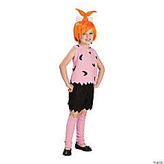 Girl's Flintstones Pebbles Costume