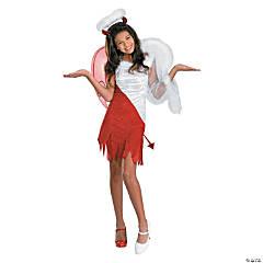 Girl's Heavenly Devil Costume - Small