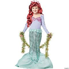 Girl's Little Mermaid Costume - Large