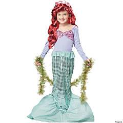 Girl's Little Mermaid Costume - Small