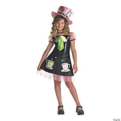 Girl's Mad Hatter Costume - Medium