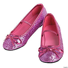 Girl's Pink Ballet Shoes - Size 13/1