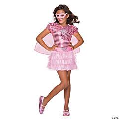 Girl's Pink Supergirl Tutu Dress Costume - Medium