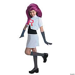 Girl's Pokémon Jessie Costume - Medium