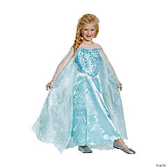 Girl's Prestige Disney Frozen™ Elsa Costume - Small
