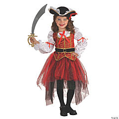 Girl's Princess of the Seas Costume - Large