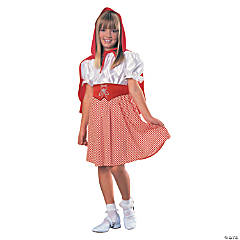 Girl's Red Riding Hood Costume - Large