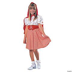 Girl's Red Riding Hood Costume - Medium