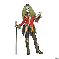 Girl's Rowdy Clown Costume - Large
