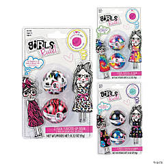 Girls Rule!™ 2-Pack Flavored Lip Balm Set