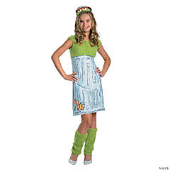 Girl's Sesame Street Oscar the Grouch Costume
