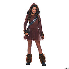 Girl's Star Wars™ Classic Chewbacca Costume - Large
