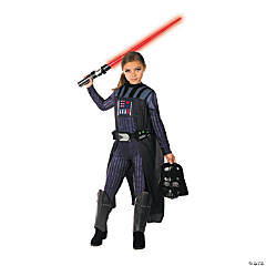 Girl's Star Wars™ Classic Darth Vader Costume - Large