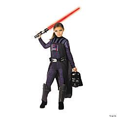 Girl's Star Wars™ Classic Darth Vader Costume - Medium