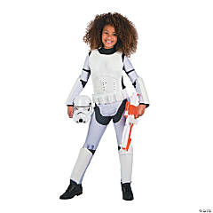 Girl's Star Wars™ Classic Stormtrooper Costume - Large