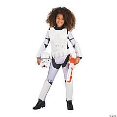 Girl's Star Wars™ Classic Stormtrooper Costume - Medium