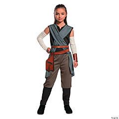 Girl's Star Wars™ Episode VIII: The Last Jedi Rey Costume - Medium