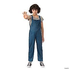 Girl's Stranger Things™ Eleven's Overalls - Large