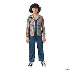 Girl's Stranger Things™ Eleven's Plaid Shirt - Large