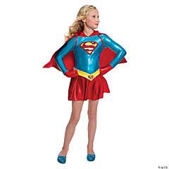 Girl's Supergirl Dress Costume - Small