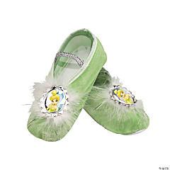 Girl's Tinker Bell Ballet Slippers
