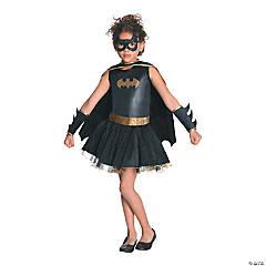 Girl's Tutu Batgirl Costume - Medium