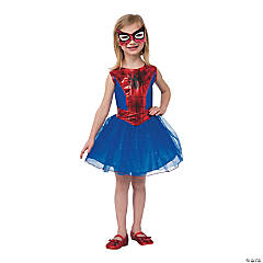 Girl's Tutu Dress Economy Spider-Girl™ Costume - Medium