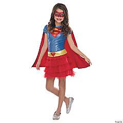 Girl's Tutu Dress Supergirl Costume
