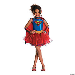 Girl's Tutu Supergirl™ Costume - Medium