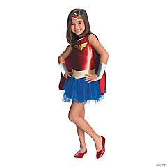 Girl's Tutu Wonder Woman Costume - Medium