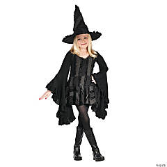 Girl's Witch Stitch Costume - Large