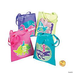 Girlysaurus Tote Bags