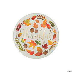 Give Thanks Dessert Plates - 8 Ct.