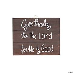 Give Thanks to the Lord Sign