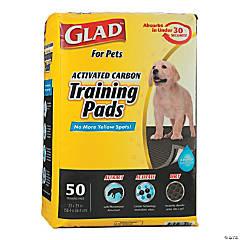 Glad Activated Carbon Training Pads 50/Pkg-