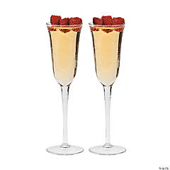 Glass Champagne Glasses