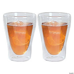 Glass Double Wall Rocks Glasses