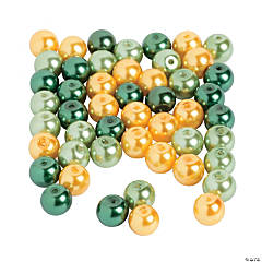 Glass St. Pat's Pearl Beads - 8mm