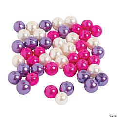 Glass Valentine Pearl Mix - 8mm