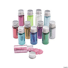 Glitter Assortment in Jars