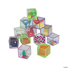 Glitter Brain Teasers Puzzle Cubes