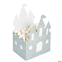 Glitter Castle Favor Boxes