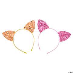 Glitter Cat Ear Headbands
