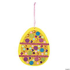 Glitter Easter Egg Sign Craft Kit