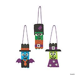 Glitter Halloween Ornament Craft Kit