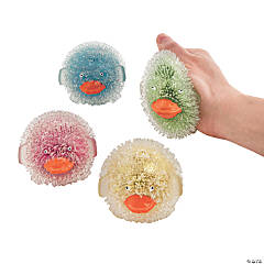 Glitter Puffy Duck Squeeze Toys