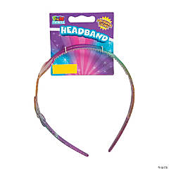 Glitter Rainbow Headbands
